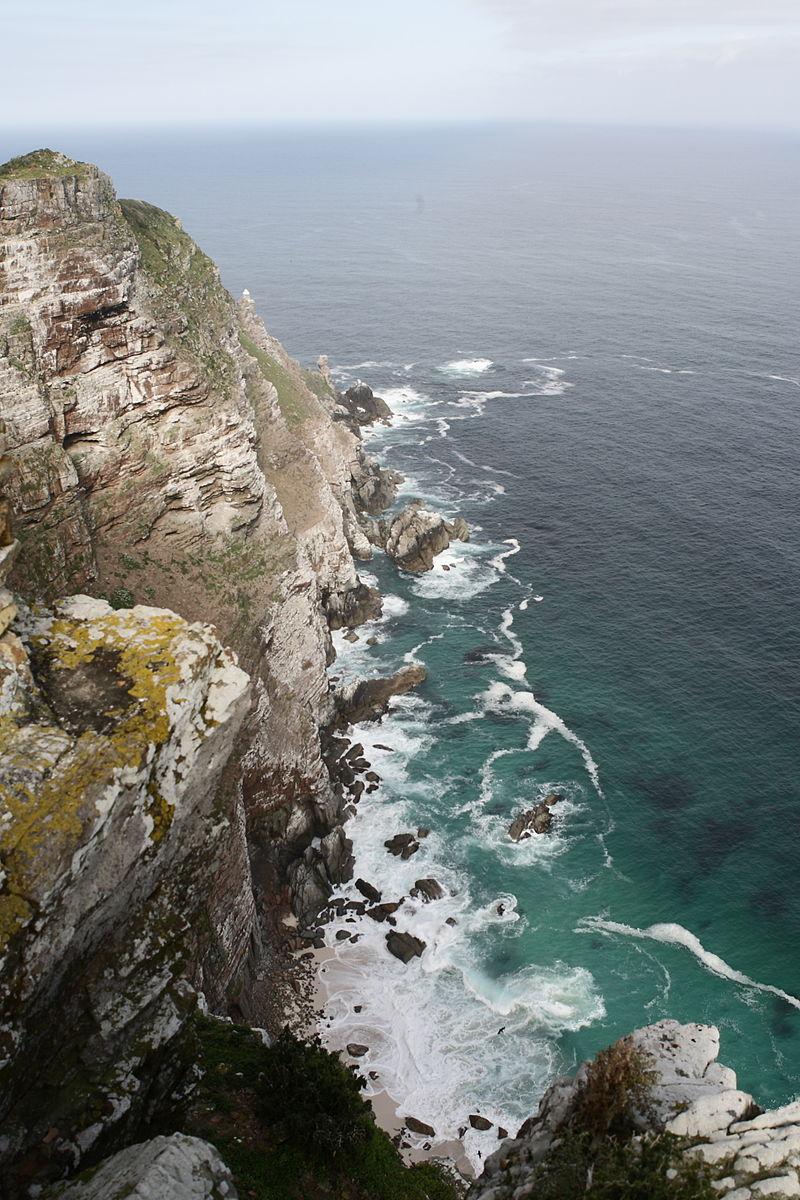 Cape Point ou Pointe du Cap en Afrique du Sud