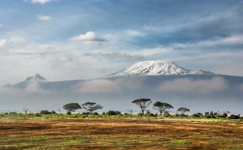 Amboseli national park avec vue sur le Kilimandjaro au Kenya