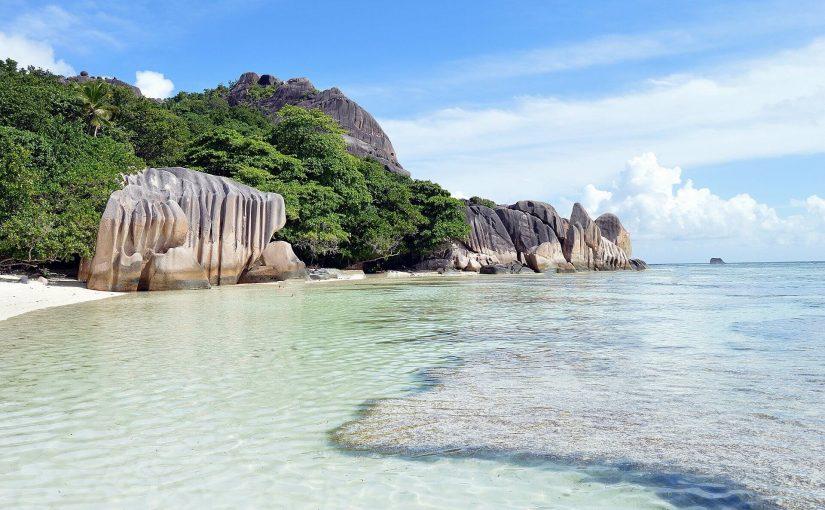 Carte des îles d'Afrique : Seychelles, Madagascar, Réunion